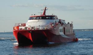 Laivalla Tallinaan